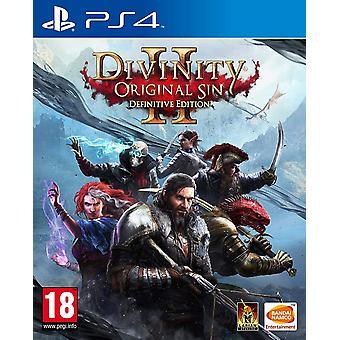 Divinity original Sin 2 Definitive Edition PS4 jogo
