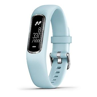 Garmin - Activity Tracker - Vivosmart 4 bleu clair-argent S-M - 010-01995-04