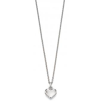 Little Star Mia Silver Heart Children's Ketting
