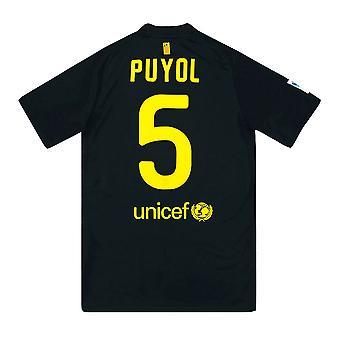 2011-12 برشلونة نايكي بعيدا قميص (PUYOL 5) (ممتاز)