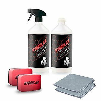 Kit di protezione vernice auto Hydrolex Ceramic Sealant 2 x 500ml con accessori