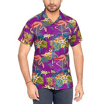 Club cubana men's regular fit classic short sleeve casual shirt ccc111