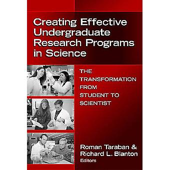 Creating Effective Undergraduate Research Programs in Science - The Tr