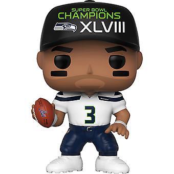 NFL Seahawks Russel Wilson SB Champ XLVIII Pop! Vinyl