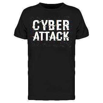 Cyber Attack Tee Men's -Image by Shutterstock