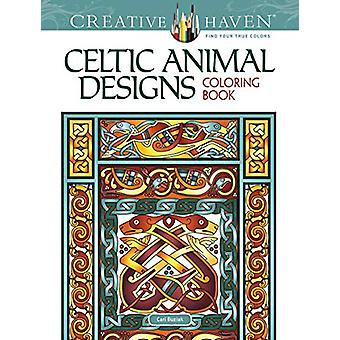 Creative Haven Celtic Animal Designs Coloring Book by Cari Buziak - 9