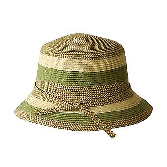 Jacaru 1751 chapeau rayé à bord court