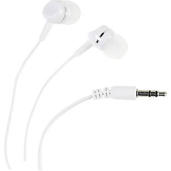Vivanco SR 3 WHITE Hi-Fi In-ear headphones In-ear White