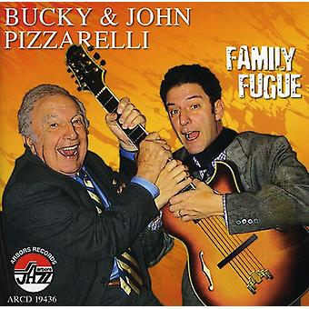 Bucky Pizzarelli & John - Family Fugue [CD] USA import