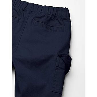 Essentials Little Boys' Cargo Pants, Navy Blazer, S (6-7)