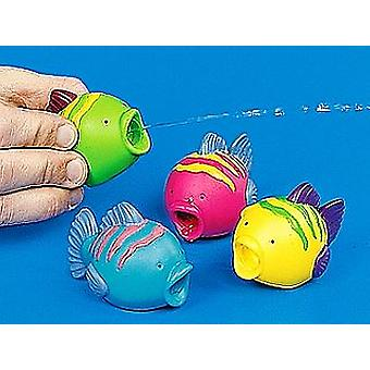 12 Plastic Fish Water Squirter Party Bag Fillers