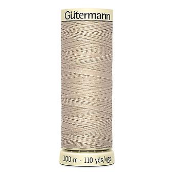 Gutermann Sew-all 100% Polyester Thread 100m Hand and Machine Colour Code  - 722
