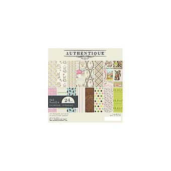 Authentique Cottontail 6x6 Inch Paper Pad