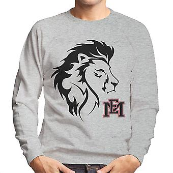 East Mississippi Community College Lion Head Logo Men's Sweatshirt