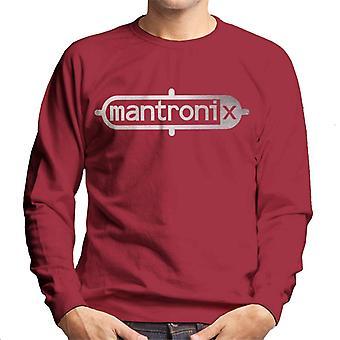Mantronix Classic Silver Foil Logo Men's Sweatshirt