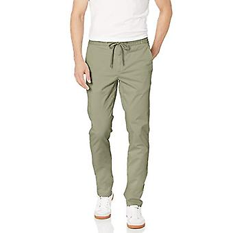 Brand - Goodthreads Men's Skinny-Fit Washed Chino Drawstring Pant, Fat...