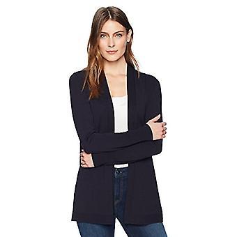 العلامة التجارية - لارك & رو المرأة & apos;ق خفيفة الوزن طويلة الأكمام متوسطة الطول الكارديجان ...