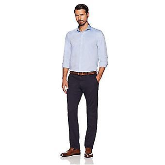 BUTTONED أسفل الرجال & ق المجهزة سوبيما القطن Cutaway-Collar اللباس عارضة قميص, B ...