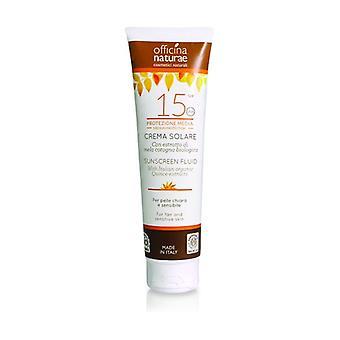 Sunscreen SPF 15 medium protection 125 ml of cream