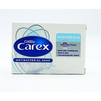 24 x Cussons Carex Moisture Plus Antibacterial Soap 100g Each