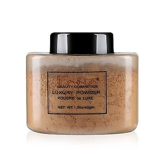 Smooth Loose Powder Oil Control Makeup Concealer for Beauty Highlighting with Mineral Setting Banana Powder
