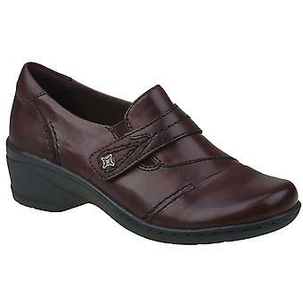 Earth Origins Womens Gina Leather Closed Toe Loafers