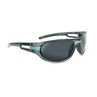 Kids homerun - polarized sports wrap green/black sunglasses