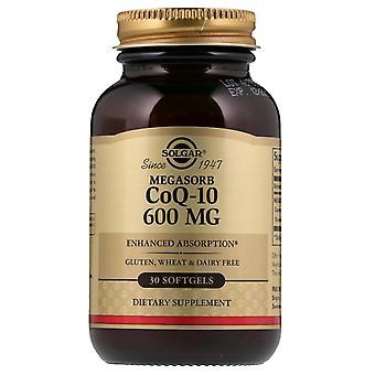 Solgar, Megasorb CoQ-10, 600 mg, 30 Softgels