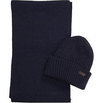 Barbour Crimdon Beanie et scarf gift set