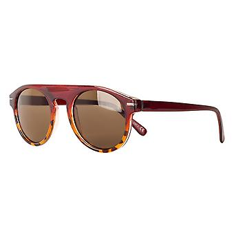 Sunglasses Unisex Cat.3 red/brown (amm19103a)