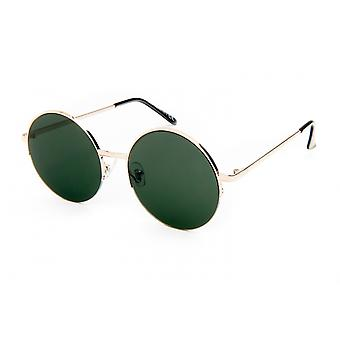 Sonnenbrille Unisex    gold/weißgold/grün (20-110)