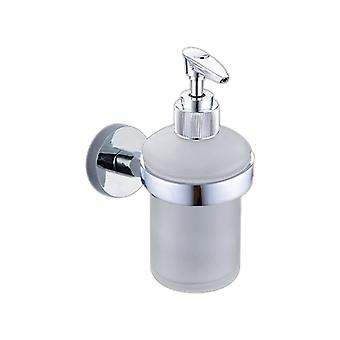 Stainless Steel Manual Soap Dispense 220295 Silver