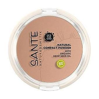 Compacte make-up 02 Neutraal Beige 1 unit (Beige)