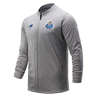 2020-2021 Porto Pré-Match Jacket (Grey Marl)