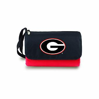 Blanket Tote- Red(U Of Georgia Bulldogs) Digital Print