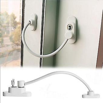 ロック可能な窓セキュリティケーブルロック - ドア安全制限者のチャイルドルーム窓
