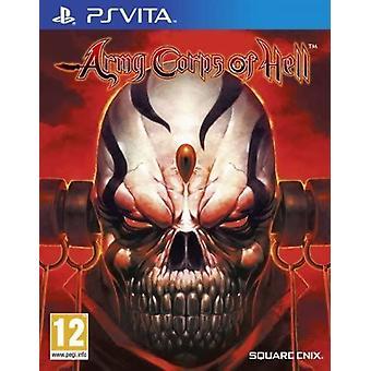 Army Corps of Hell PS Vita Game (Italiaanse doos - multi-taal in spel)