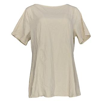 Denim & Co. Femmes&apos&s Top Fit & Flare Knit Beige A366230