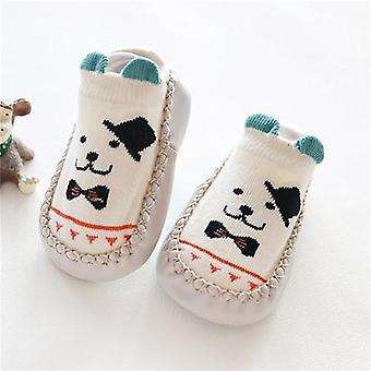 Baby Socks With Rubber Soles, Autumn, Winter, Anti Slip Soft Sole Sock