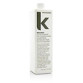 Maxi.Wash (Detox Shampoo - Voor gekleurd haar) 1000ml of 33.6oz
