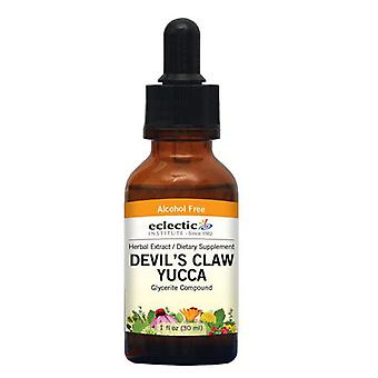 Eclectic Institute Inc Devil-apos;s Claw Yucca, 1 Oz Sans Alcool
