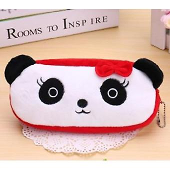 Cute Cartoon Plush Pencil Case, Large Size, Kids Pencil Box Animals
