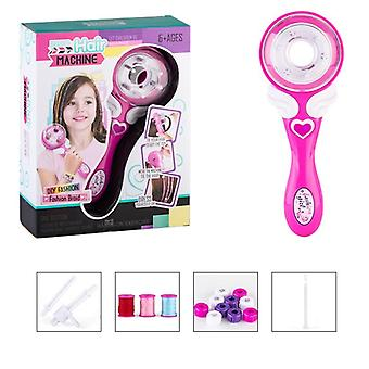Girls Electric Automatic Hair Braid, Diy Stylish Braiding Hairstyle Tool -twist