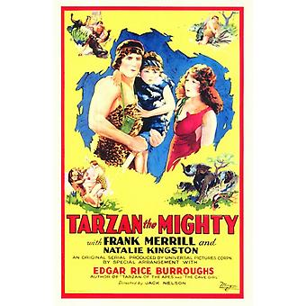 Tarzan the Mighty Movie Poster (11 x 17)