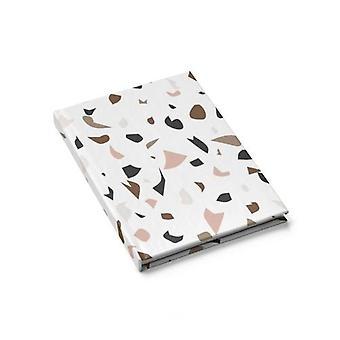 Diario en blanco multicolor