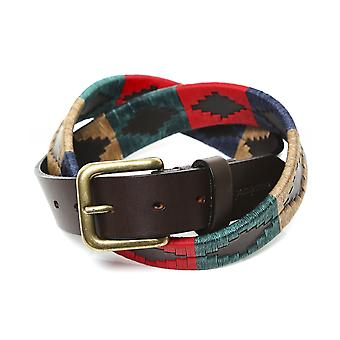 Pampeano Leather Navidad Polo Belt