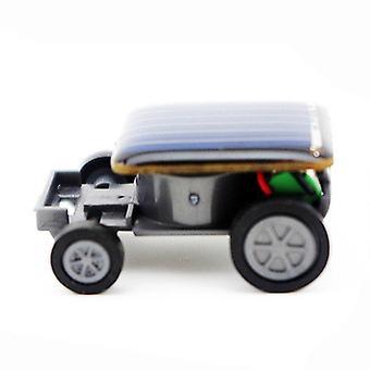 Telotuny Solar Car Smallest Solar Power Mini Toy Car Racer Educational Solar