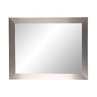 Industrial Modern Home Accent Wall Mirror 32'' X 36''