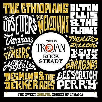 Various Artist - This Is Trojan Rock Steady [CD] USA import