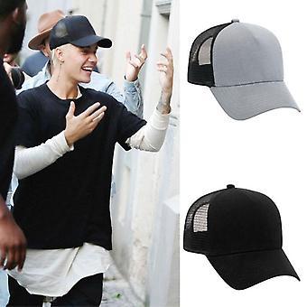 Trucker Hats Perse Alternative Black Grey Similar Look Hat As Worn By Justin